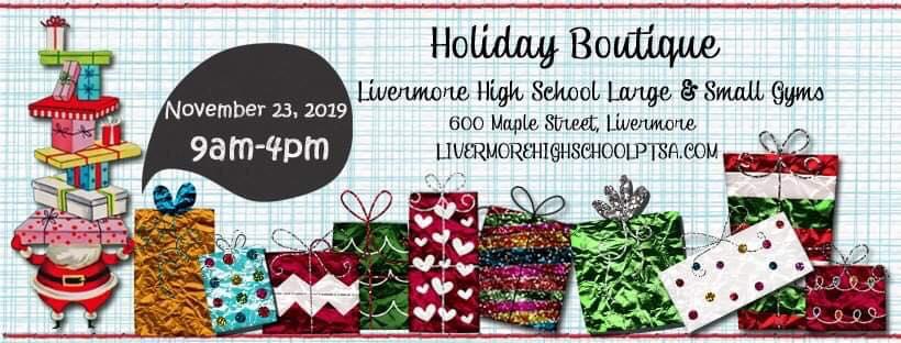 Holiday Boutique 2019 Livermore High School Ptsa